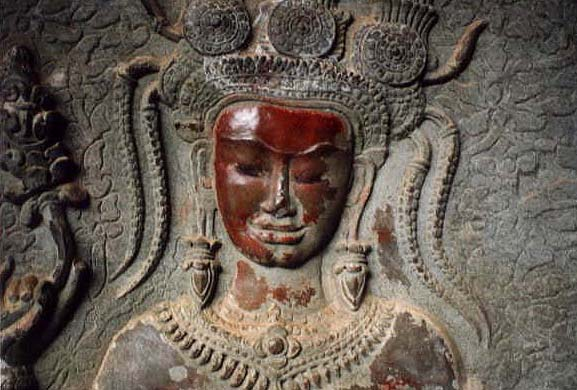 Apsaras and Devatas from Angkor Wat