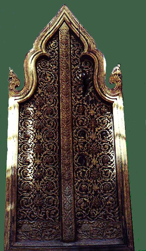 The Temple Door at Wat Yai Suwannaram & Ayutthaya Period Carvings Pezcame.Com